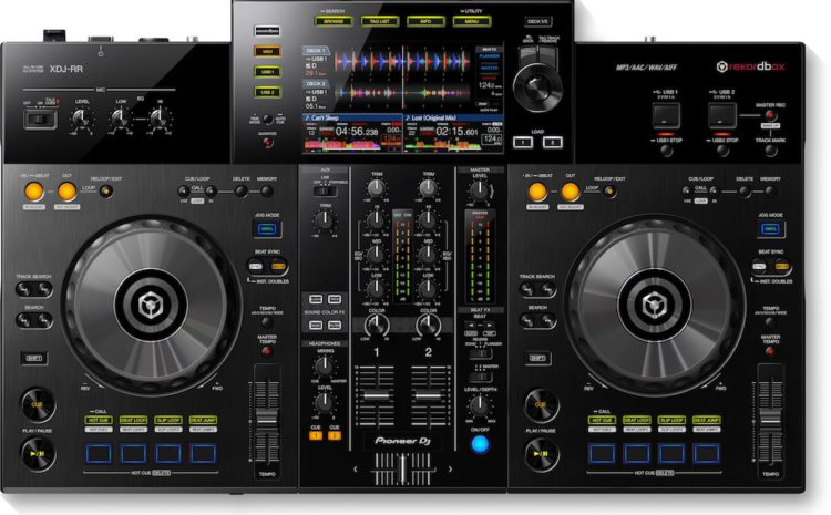XDJ-RR Pioneer DJ all in one dj system