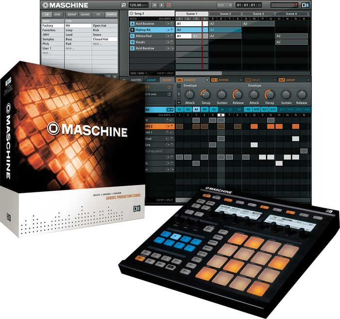 Workshop Maschine na DJBan! Dia 27 de Abril drum machine, maschine, maschine mikro, mpc, native instruments, Produção musical, workshop