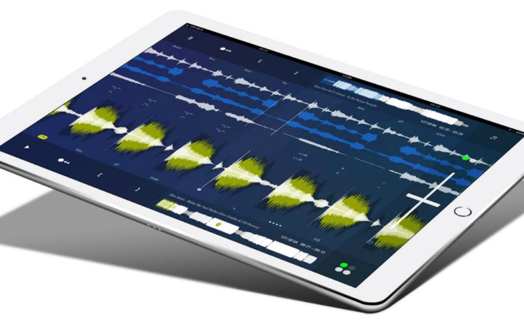 Toque STEMS no iPad com o DJPlayer Pro ipad