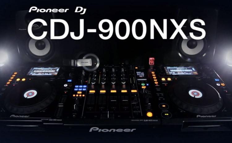 Novo Pioneer DJ CDJ-900NXS CDJ-900NXS