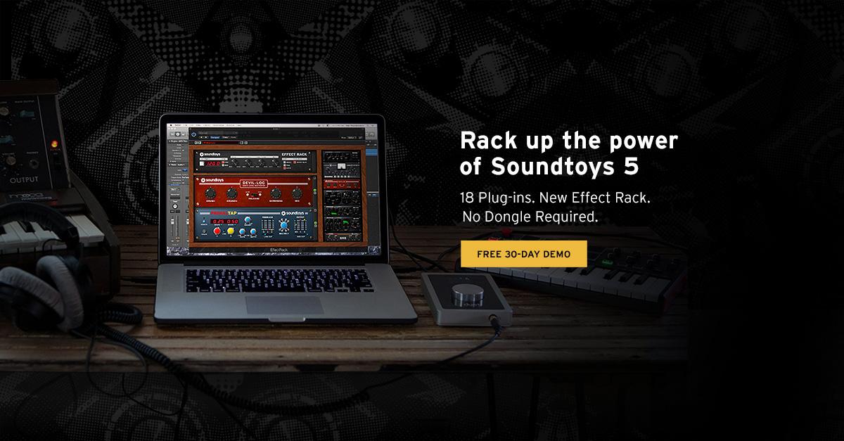 Soundtoys: Processadores de efeitos de alta qualidade Ableton, bitwig, logic, soundtoys