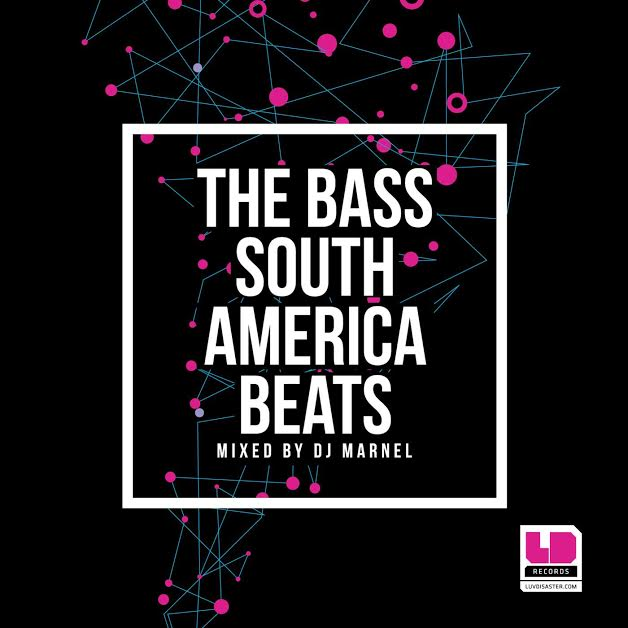 The Bass South America Beats CD, compilação, DJ, Drum and bass, jump up, liquid, Luvdisaster, marnel, mix, the bass
