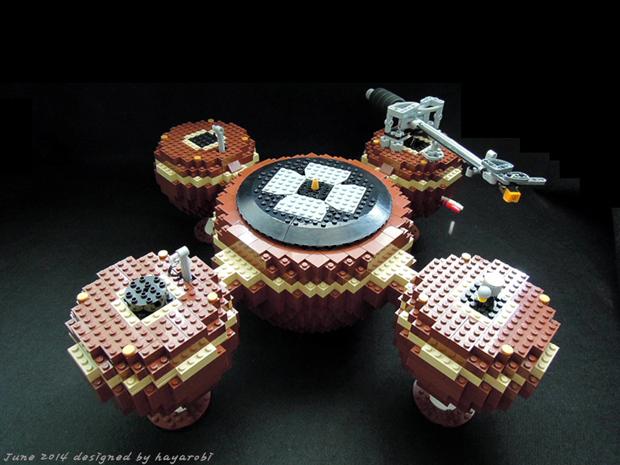 Dá pra ter um Toca-Discos de LEGO de Natal? lego, toca-discos