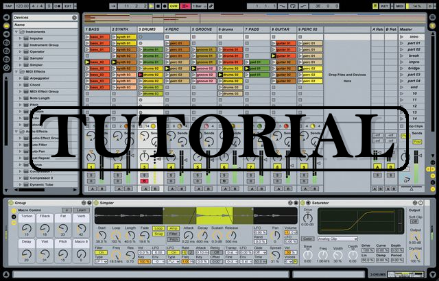 Dicas de Ableton Live em vídeo, com Renê Castanho tutorial