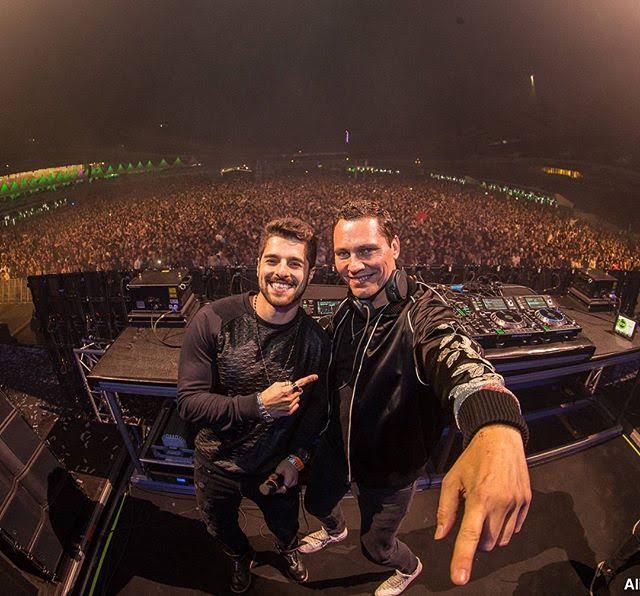 """Alok e Tiësto tocam remix de """"Hear Me Now"""" no  Summerburst, Suécia."""