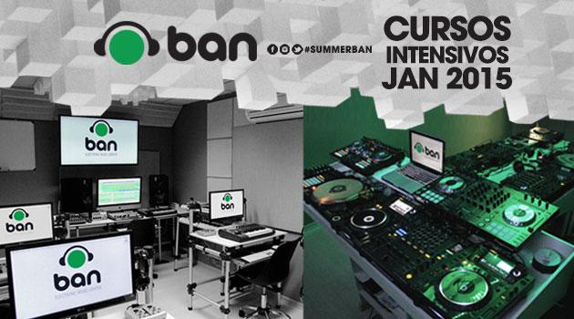 Cursos intensivos em janeiro: DJ, VJ e Produção Musical!
