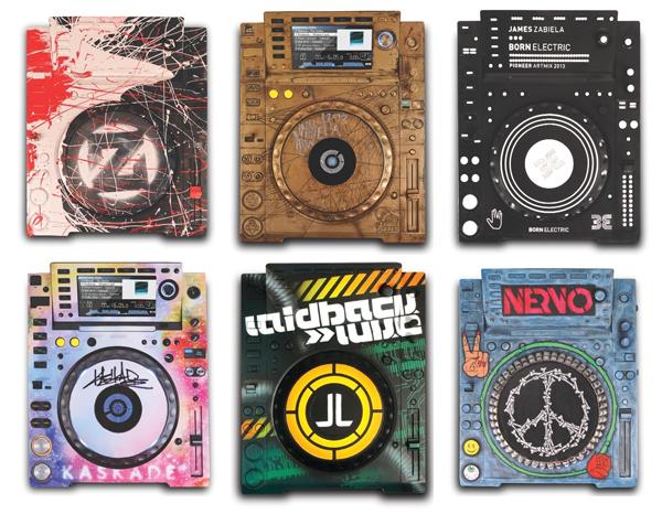 Artistas personalizam CDJ-2000 Nexus para leilão CDJ-2000 Nexus, CharityBuzz, Dada Life, kaskade, leilão, Nervo, Save The Music Foundation, VH1, Zedd