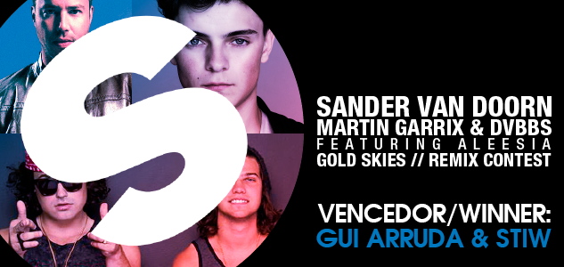 Gui Arruda & STIW vencem o remix contest da Spinnin' Records e do site Beatport remix contest