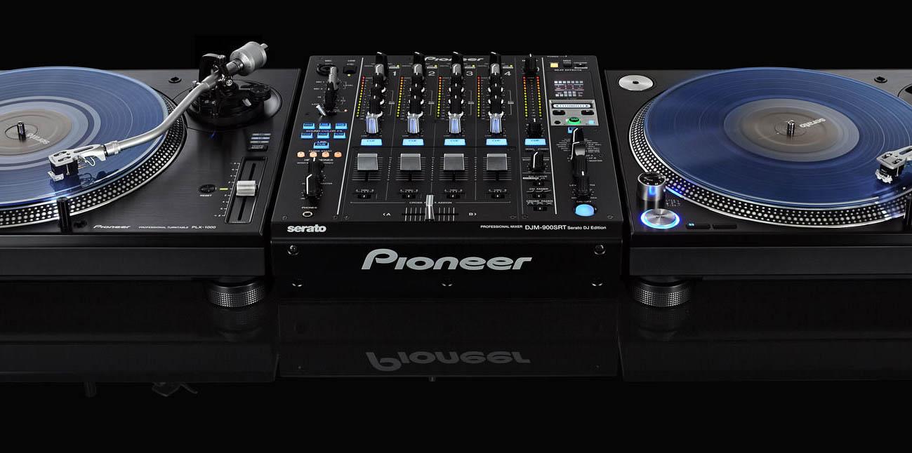 Teste os Toca-discos PLX-1000 e Mixer DJM-900 SRT da Pioneer aqui na DJBan, de 01 a 17/07 djban, djm.900 srt, mixer, pioneer, plx 1000, toca-discos