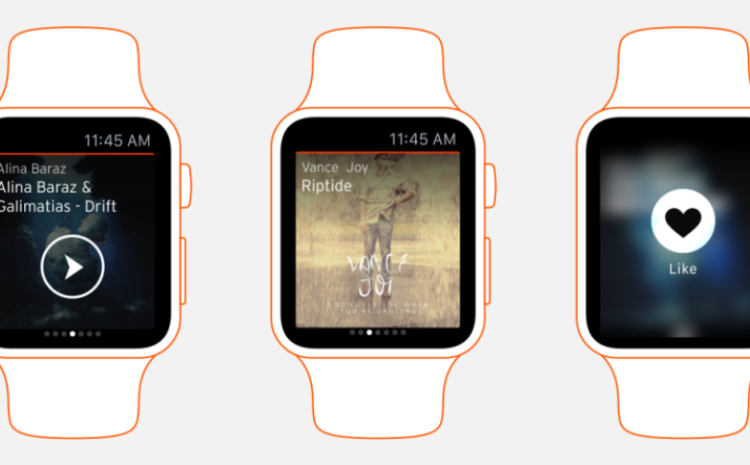 Soundcloud apresenta app para Apple Watch soundcloud