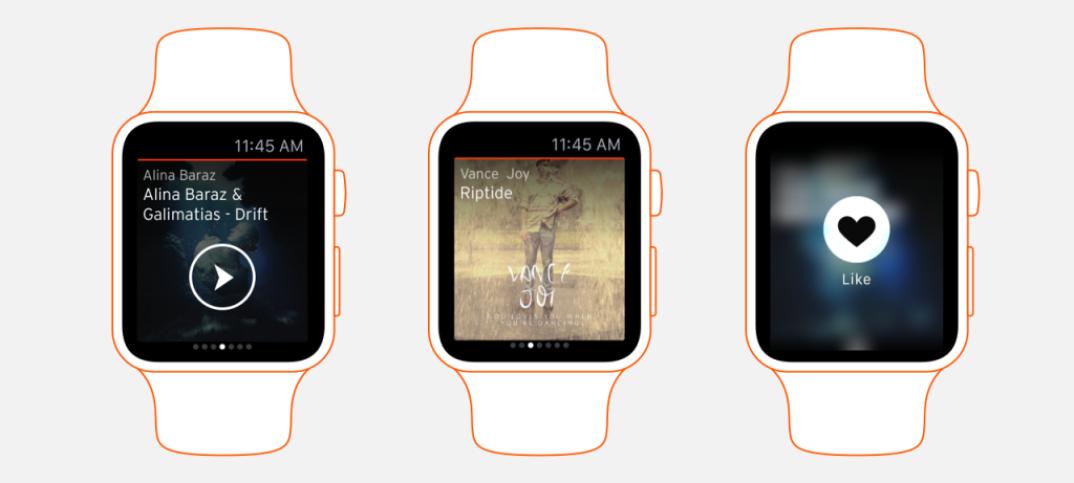Soundcloud apresenta app para Apple Watch app, Apple, apple watch, iOS, iphone, soundcloud
