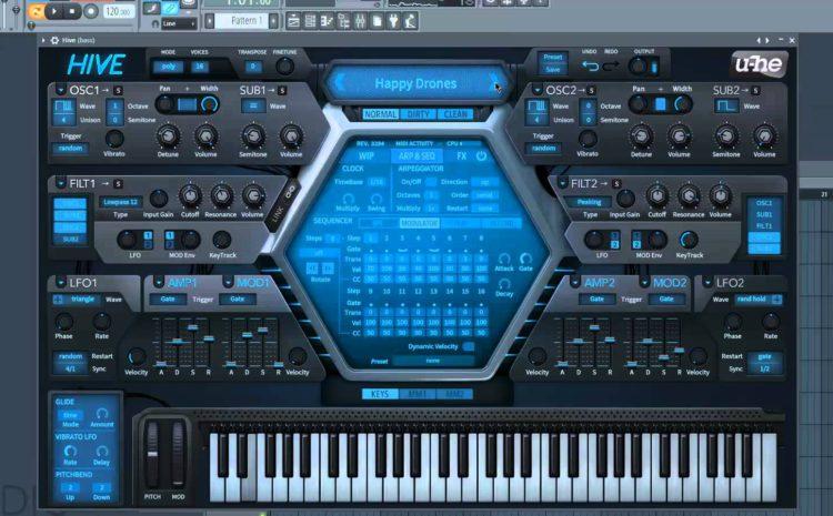 U-He lança o synth U-He Hive 1.0 u-he