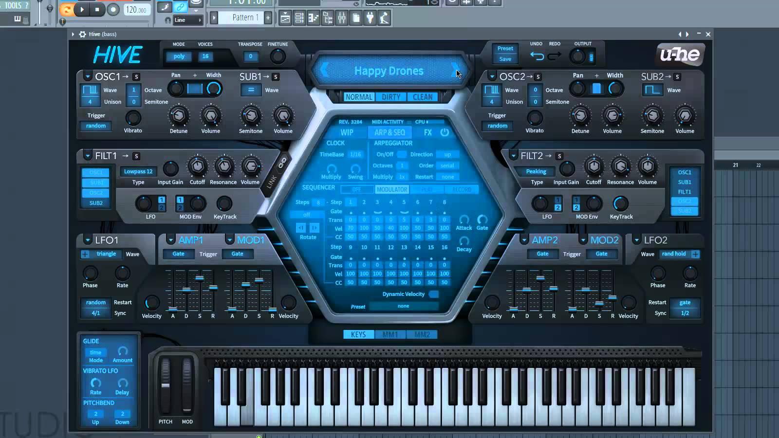 U-He lança o synth U-He Hive 1.0 ACE, Diva, hive, u-he