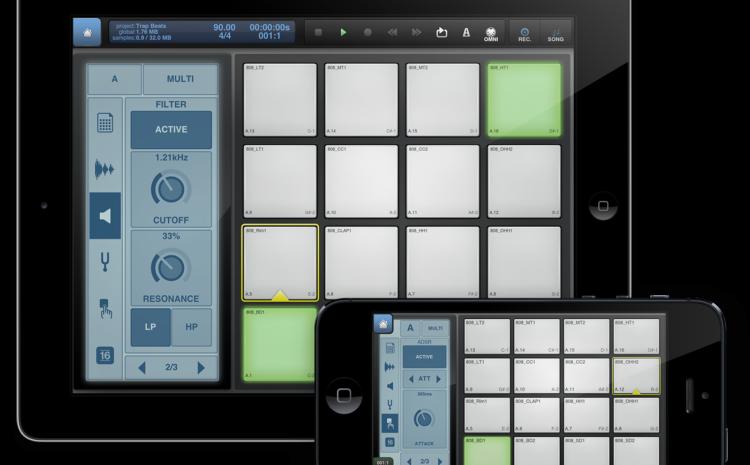 O estúdio em suas mãos: Beatmaker 2 itouch
