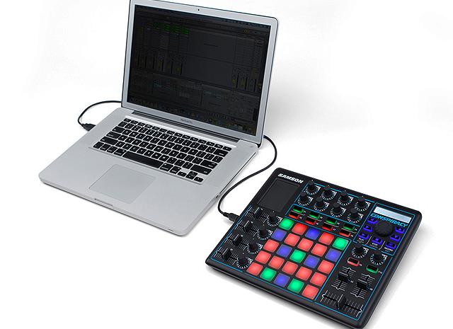 Conheça o controlador MIDI Samson Conspiracy conspiracy