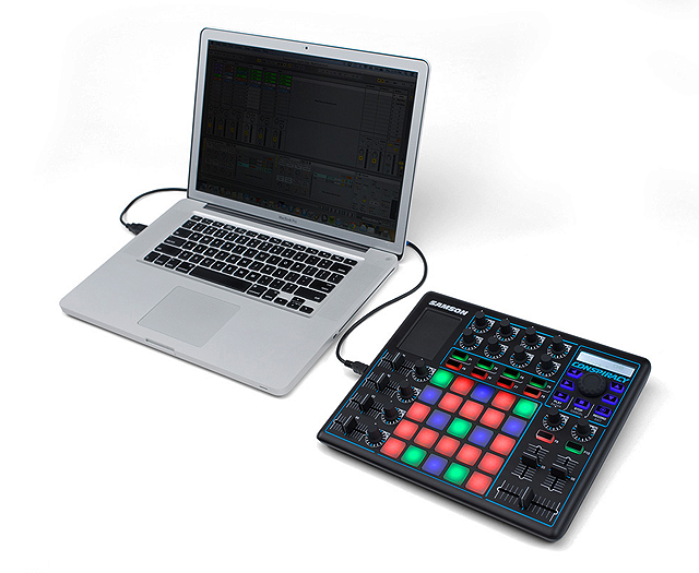 Controlador MIDI Conspiracy da Samson para nova geração de DJs e Produtores conspiracy, controlador, DJ, live pa, live sets, midi, Produção musical, produtores, samson
