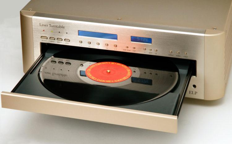 Toca-Discos a Laser toca seus vinis sem encostar neles vinil