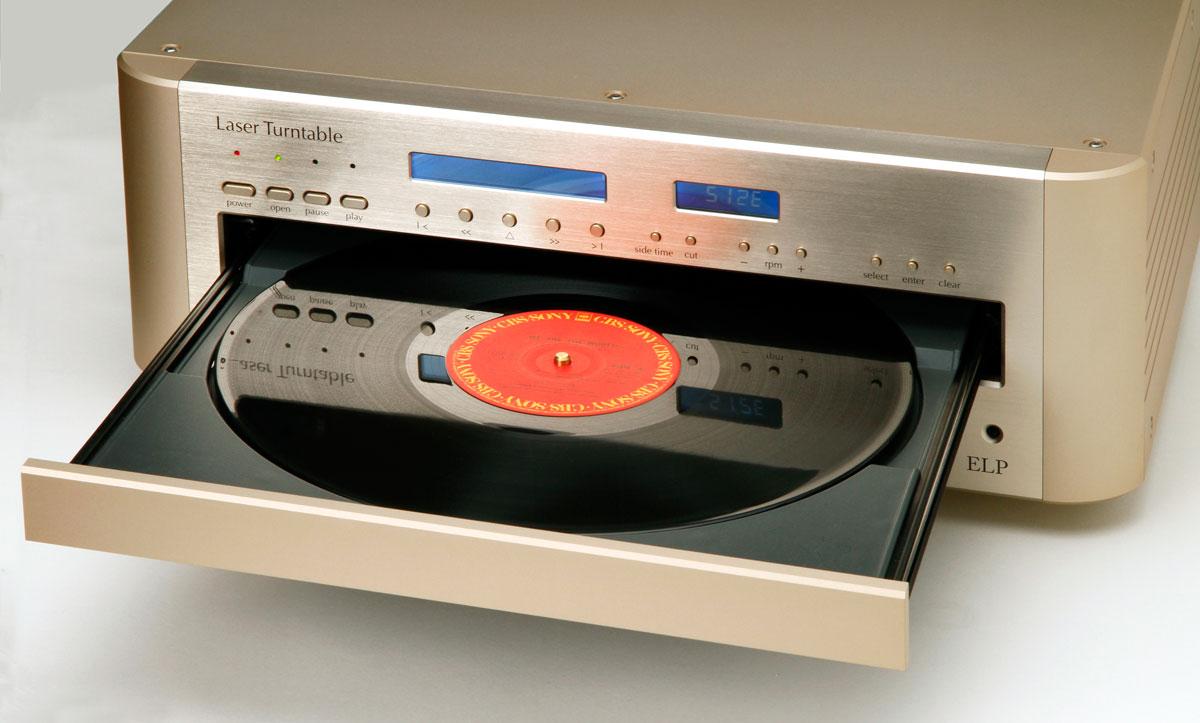 Toca-Discos a Laser toca seus vinis sem encostar neles elp, laser, toca-discos, vinil
