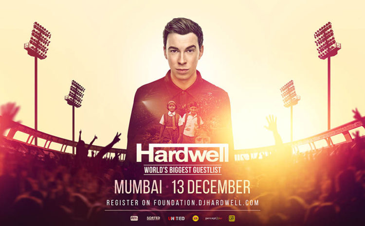 Hardwell cria a Fundação United We Are e promove show beneficente na Índia united we are