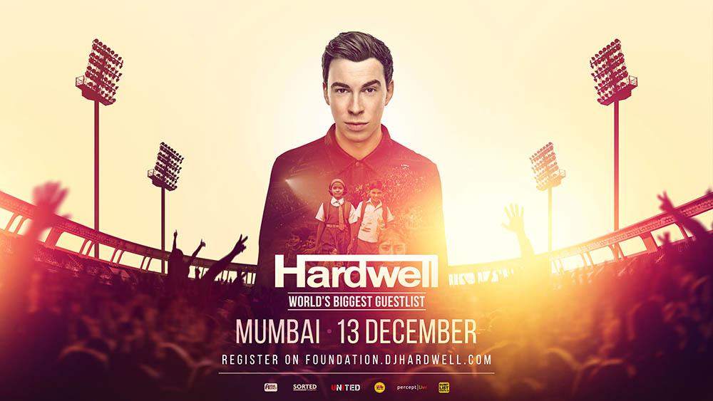 Hardwell cria a Fundação United We Are e promove show beneficente na Índia anna agency, fundação, Hardwell, I AM HARDWELL, united we are, united welfare trust