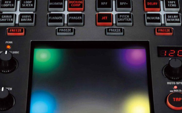 O poderoso processador de efeitos Korg Kaoss Pad Quad korg