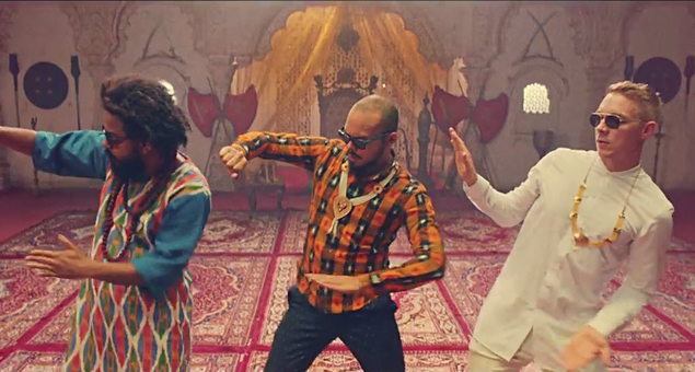 Major Lazer lança nova música e vídeo Diplo, DJ Snake, Jillionaire, lean on, major lazer, MØ, peace is the mission, roll the bass, Walshy Fire