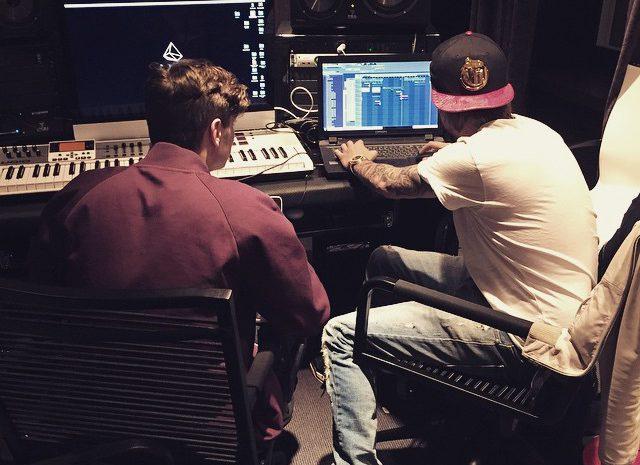 Martin Garrix e Avicii juntos em estúdio Avicii