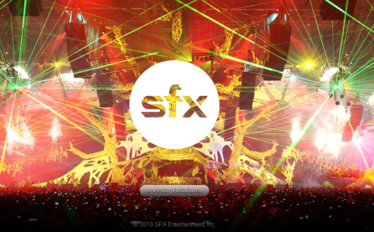 SFX estaria a beira da falência SFX Entertainment