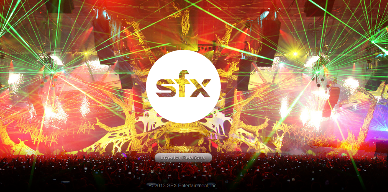 SFX Entretenimento divulga US$ 131 milhões de prejuízo em seu quarto trimestre beatport, o Experience Voodoo, Plus Talent, SFX Entertainment, Stereosonic, tomorrowworld, Zoo Eléctrica