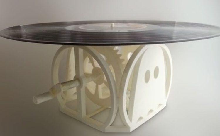 Que tal fazer o seu próprio toca-discos com uma impressora 3D? 3d