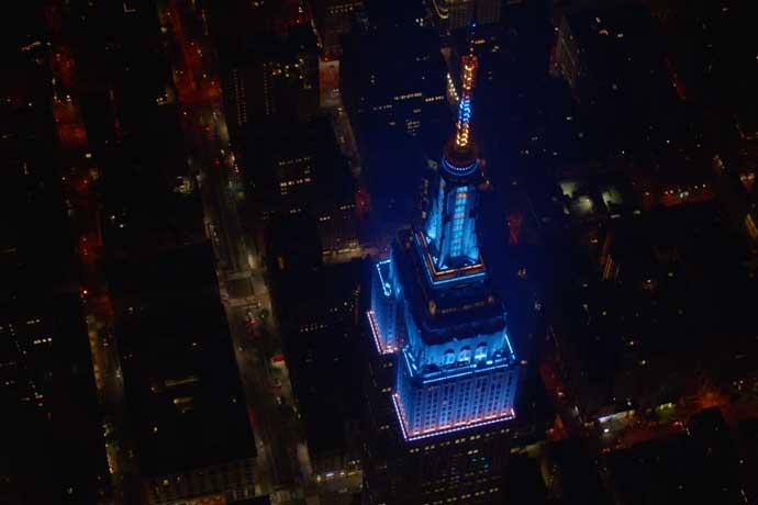 Zedd ilumina o Empire State Building Zedd