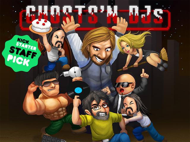 """Ghosts 'n DJs: o game do Dr. Kucho que é o mais legal de todos os tempos Dr. Kucho, game, Ghosts 'n DJs"""", Ghosts 'n Goblins"""