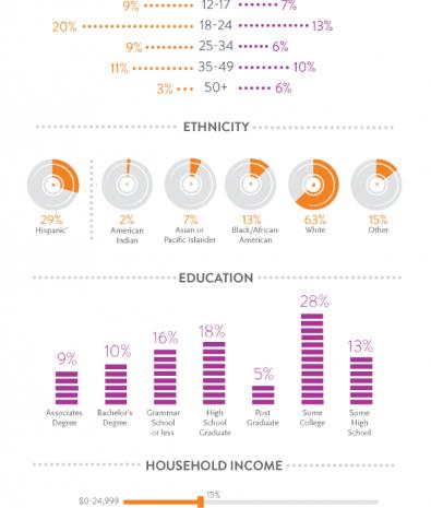 Estudo da Nielsen revela quem são os fãs de Música Eletrônica infográfico