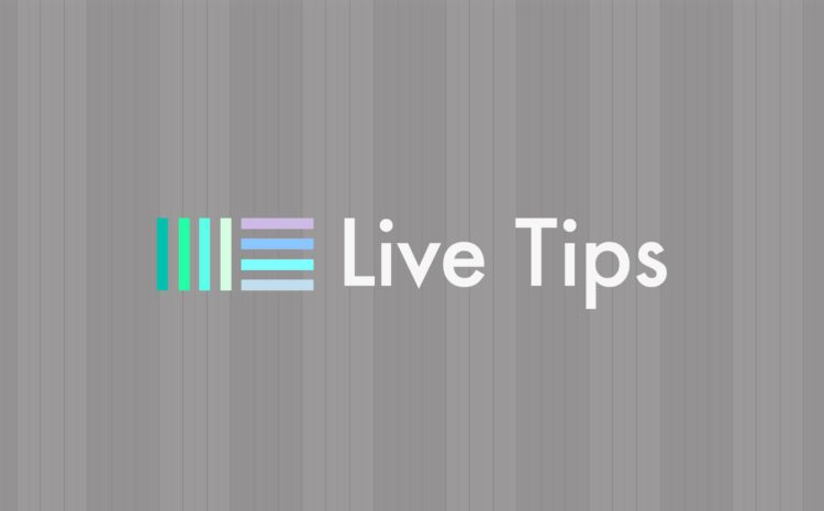 Live Tips com Renê Castanho - Ableton live tips