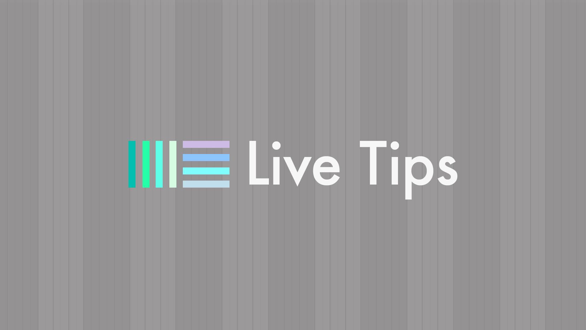 Live Tips com Renê Castanho - Ableton Ableton Live, curso, live tips, música eletrônica, Produção musical, rene castanho