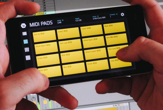 LK Ableton Live Controller para iOS e Android lk