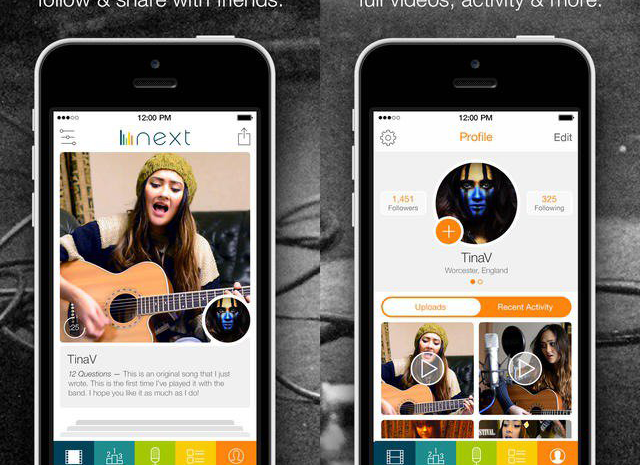 Next, o aplicativo social musical dos mesmos criadores do Tinder iphone