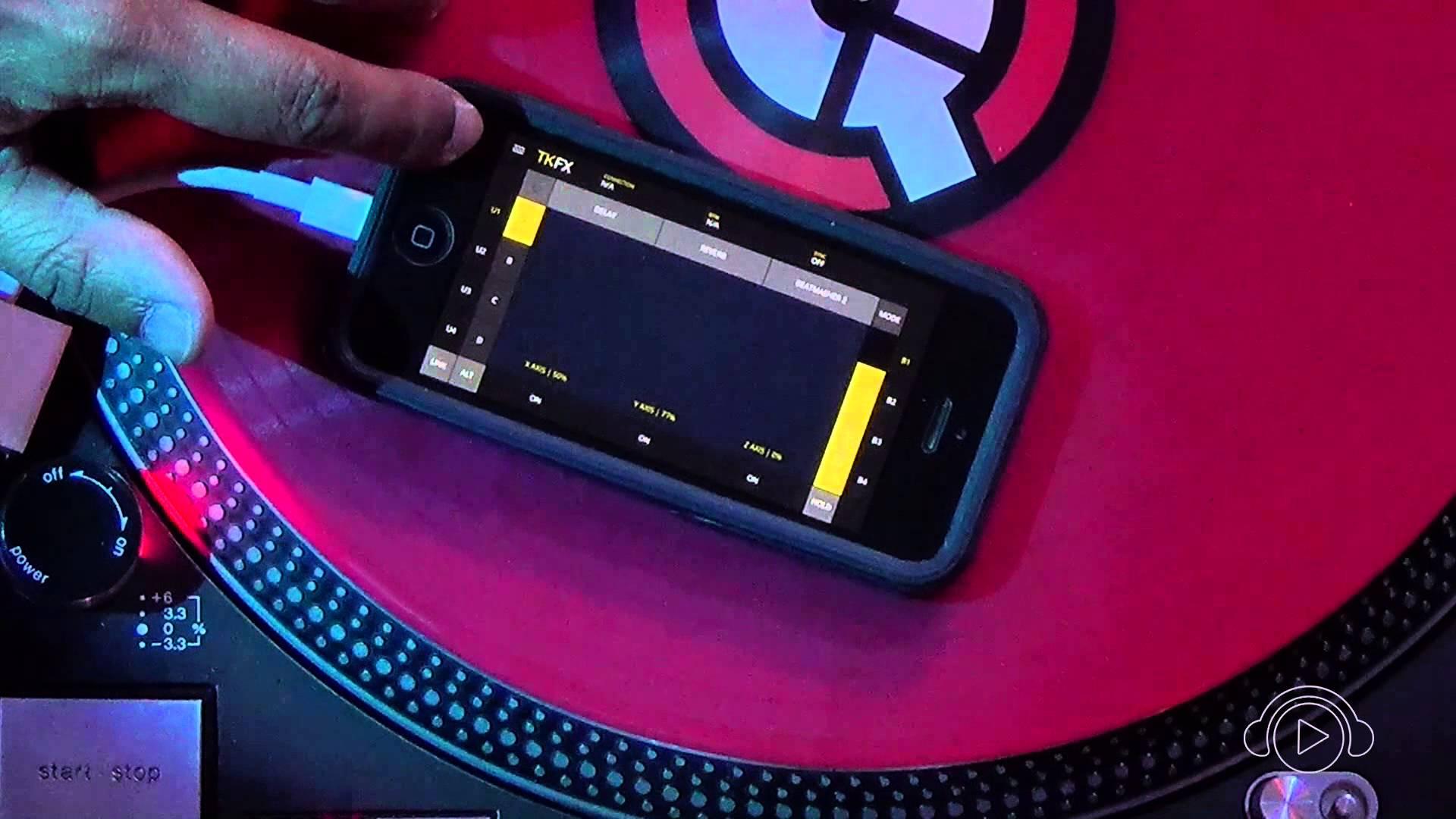 App TKFX, efeitos Traktor que cabem no seu bolso! TKFX, Traktor, unidade de efeitos
