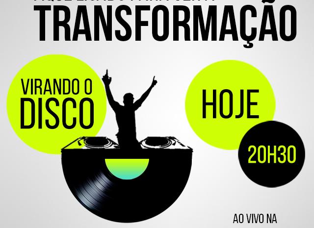 Virando o Disco: vamos conferir a transformação do DJ Ferrero, ganhador da promoção, hoje, às 20h gustavo borges Ferreira