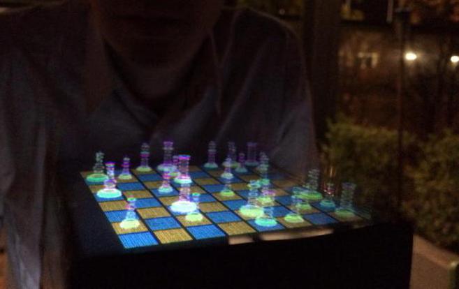 Voxiebox transforma suas imagens em projeções holográficas 3D voxiebox
