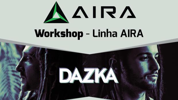 Workshop sobre a nova Linha AIRA da Roland com Dazka, dia 04.09 às 17h workshop