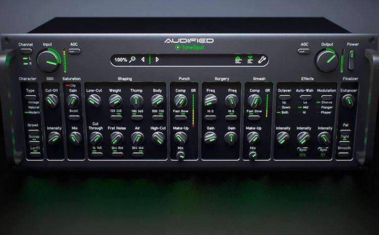 melhore suas cordas com o novo plug-in ToneSpot Acoustic Pro da Audified equalizador