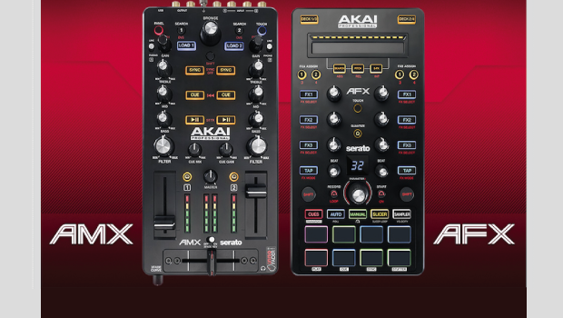 Novos Akai AMX e AFX integram a performance do DJ Produtor AFX, akai, AMX, controlador, controlador 4 decks, DJ, Live Performance, Mixer Digital, Serato