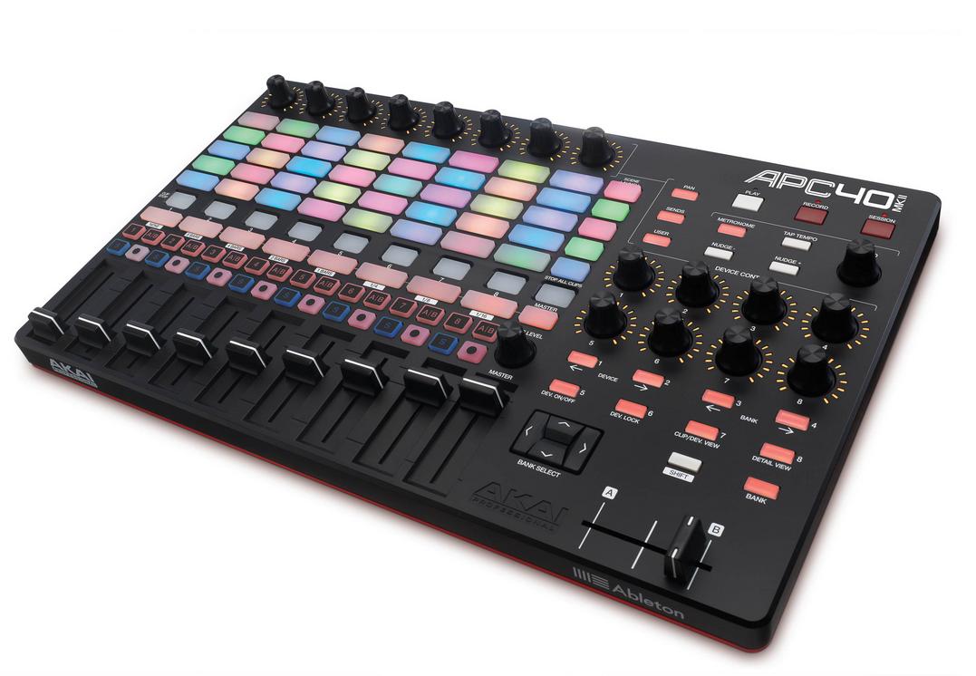 Akai anuncia APC40 MKII, APC Key 25 e APC MINI Ableton Live, akai, APC 40, controlador midi, Produção musical, vj