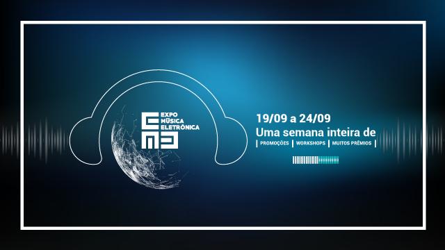 Expo Música Eletrônica 2016, mais de R$ 20.000,00 em uma semana! numark