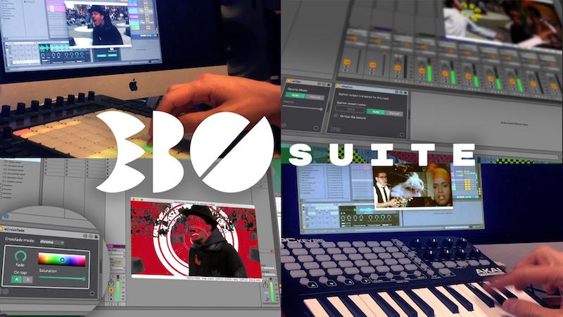 EBOSUITE - Produção audiovisual no Ableton. #djbanemc, abletonlive, audiovisual, daw, ebosuite, Magento, sampler, vídeo, vj