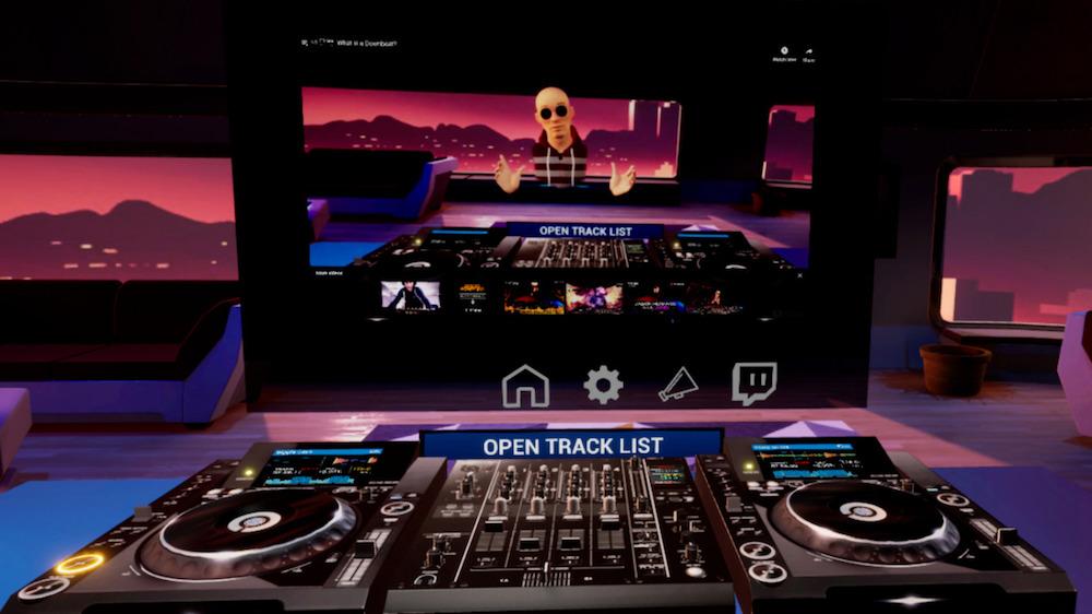 TRIBE XR DJ SCHOOL UM SIMULADOR VR DE DJ curso jogo de dj, DJ, dj online, djban
