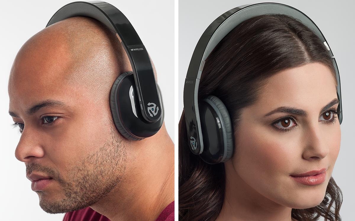 Numark corta os fios com HF Wireless DJ Headphones HF Wireless DJ headphones, numark