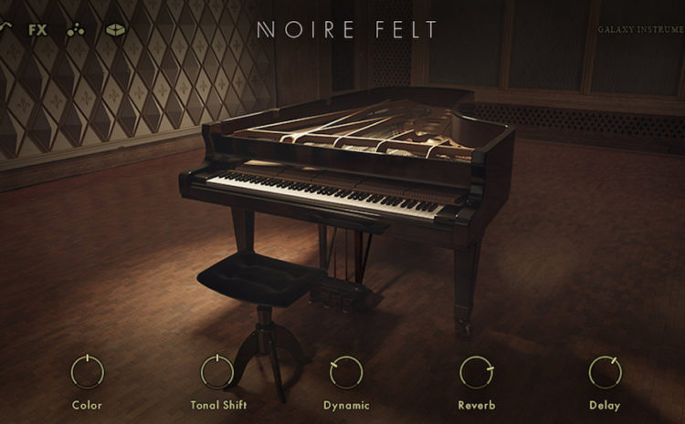 Native Instruments e Nils Frahm se unem para o novo plugin de piano Kontakt, Noire ! Nils Frahm