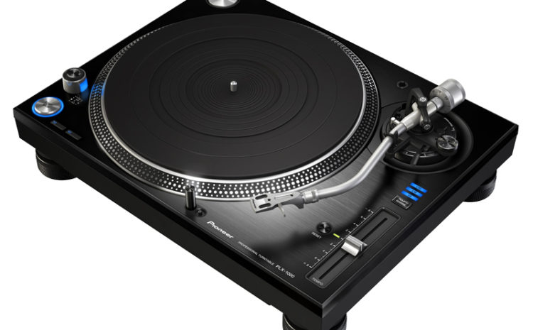 Conheça o toca discos Pioneer PLX-1000 turntables